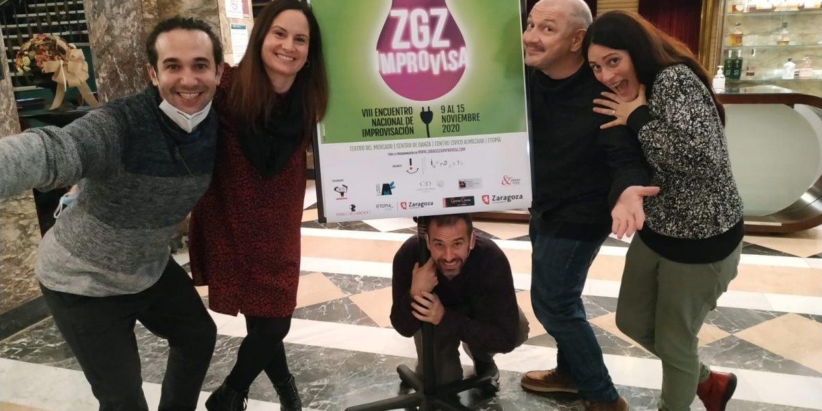Festival Zgz Improvisa en el Teatro del Mercado