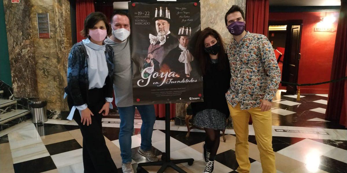 Goya en Fuendetodos en el Teatro del Mercado